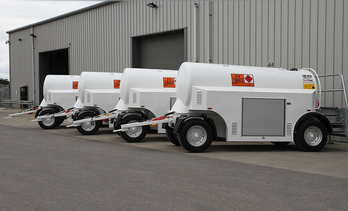 Airfield Tow Aviation Fuel Bowsers