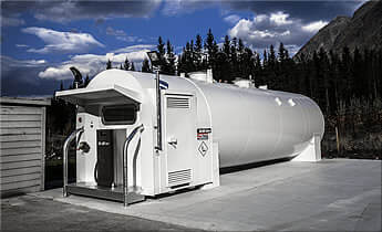 Bulk Aviation Fuel Storage Tanks