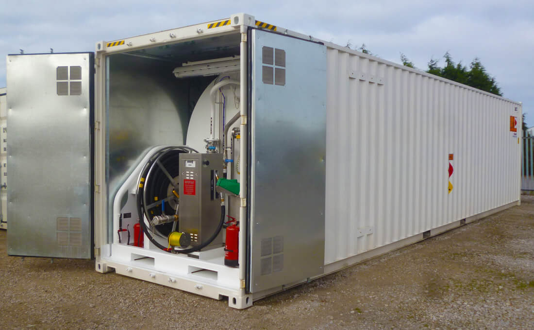 Containerised Bulk  Aviation Fuel Tank