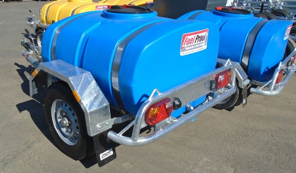 Single Axle Highway Tow Water Bowser