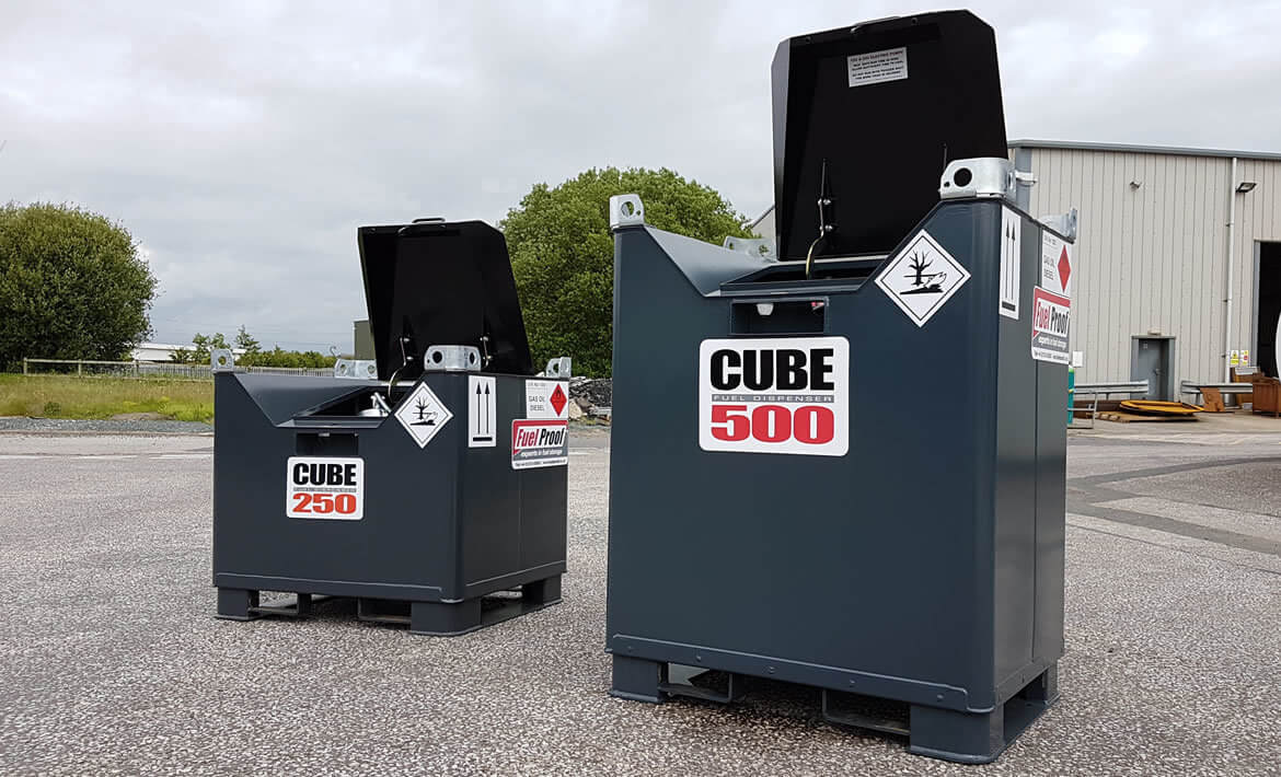 Fuelcube Diesel Storage Tanks