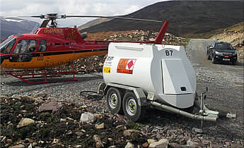 Highway Tow Aviation Fuel Bowsers