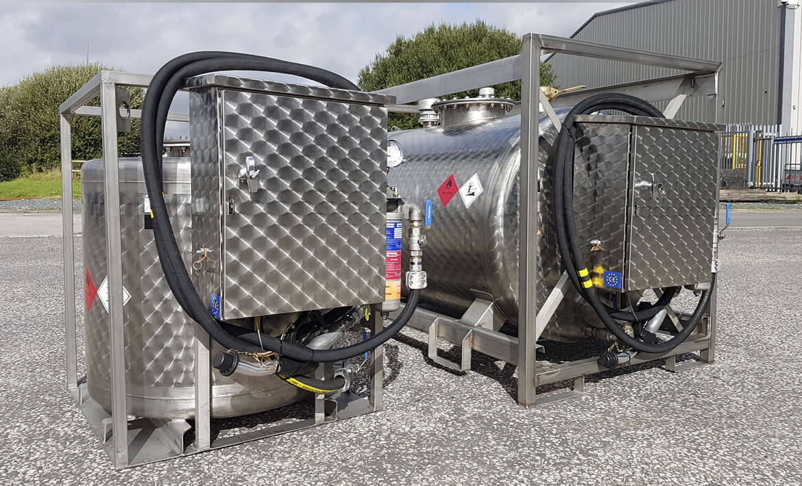 Mobile Petrol and Aviation Fuel Tanks
