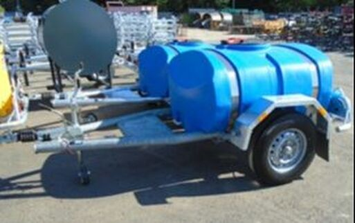 Single Axle Highway Tow Water Bowser 01