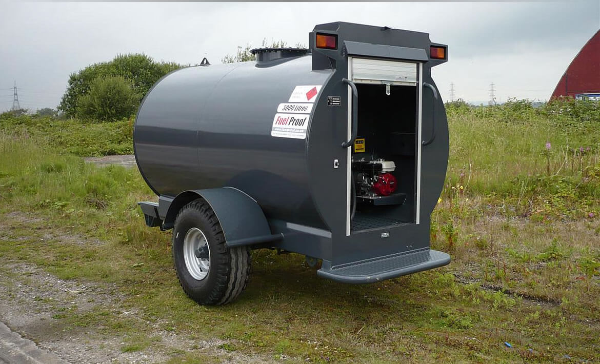 Site Tow Diesel Bowsers 3,000 to 9,000 Litres