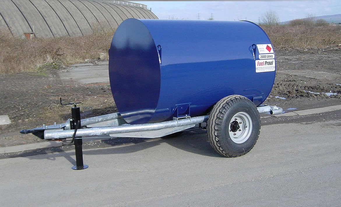 Site Tow Bowsers 1,000 to 2,500 Litres